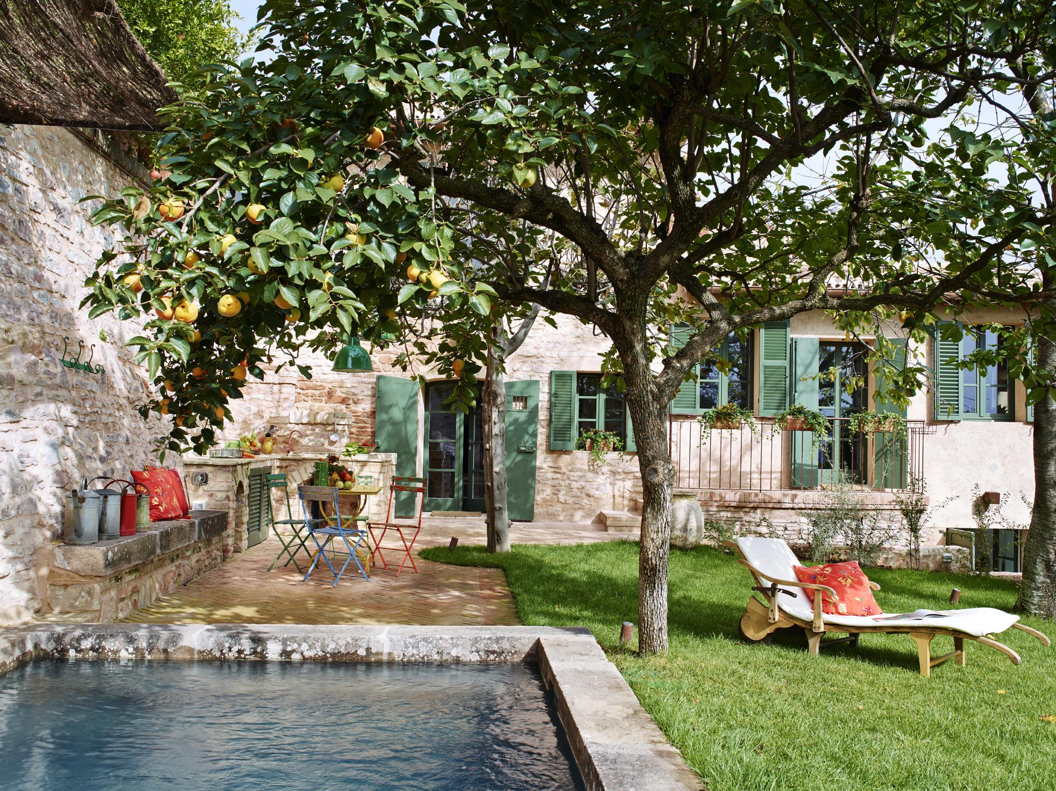 Holiday home in spello in umbria near tuscany casa giardino - Giardino in casa ...